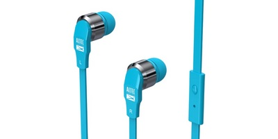 ALTEC LANSING IN EAR WITH MIC HEADPHONE, BLUE