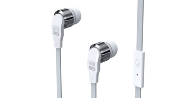 ALTEC LANSING IN EAR WITH MIC HEADPHONE, WHITE