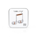 Happy Plugs In Ear Earbuds, White Marble Rose