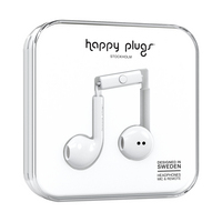 Happy Plugs, Inc Earbuds Plus, White