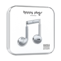 Happy Plugs, Inc Earbuds Plus, Space Gray