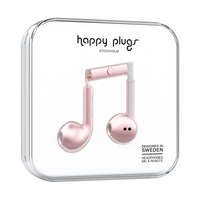 Happy Plugs, Inc Earbuds Plus, Pink Gold