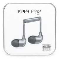 Happy Plugs In Ear Earbuds, Space Gray