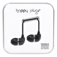 Happy Plugs, Inc Happy Plugs InEar Black Saint Laurent Marble, Black Marble