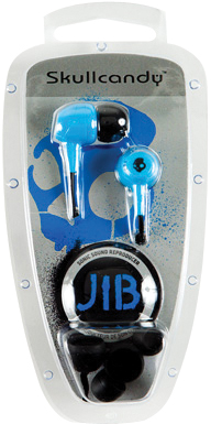 Skullcandy, Inc Jib InEar Earbud Headphones (Blue)