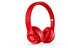 Beats Solo 2 Wired Headphone, Red