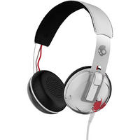 Skullcandy Grind Headphones with TapTech, White & Black