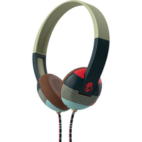 Skullcandy, Inc Uproar Headphones with TapTech, Navy & Red