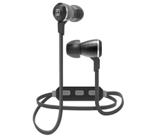 iHome Wireless Bluetooth Metal Earbud, Gunmetal