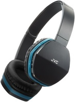 JVC Deep Bass Bluetooth Headphone, Black & Blue