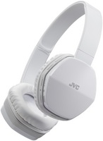 JVC Deep Bass Bluetooth Headphone, White