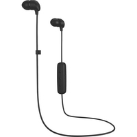 Happy Plugs In Ear Earbuds Wireless with Mic, Black