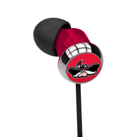 University of Nevada   Las Vegas Custom Logo Earbuds  Black