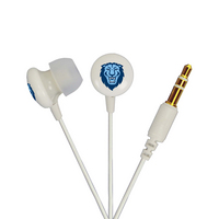 US DIGITAL MEDIA, INC Columbia Lions Custom Logo Ignite Earbuds