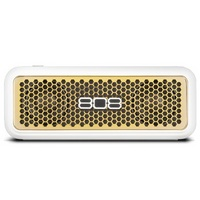 808 SP260GD Hex XS Bluetooth Speaker, White & Gold