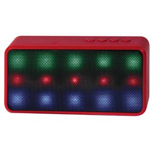 PC Treasures Prysm LED Bluetooth Speaker, Red