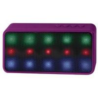 PC Treasures Prysm LED Bluetooth Speaker, Purple