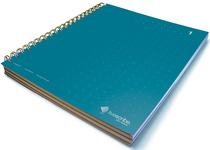 Livescribe Dot Matrix 3Subject Lined Notebook #1 Blue