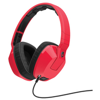 Skullcandy, Inc Crusher Headphones with Mic  Red