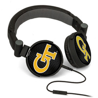 DJ Style Headphones with builtin microphone.