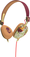 Skullcandy, Inc Knockout Headphones with Mic, Floral