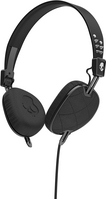 Skullcandy, Inc Knockout Headphones with Mic, Quilted Black