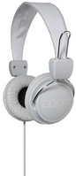 BOOM MOVEMENT Renegade OnEar Headphones  GrayWhite