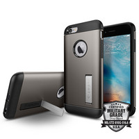 Spigen iPhone 6, 6S Slim Armor Case, Gunmetal