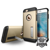 Spigen iPhone 6, 6S Slim Armor Case, Champagne Gold