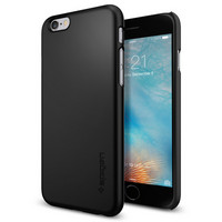 Spigen iPhone 6, 6S Thin Fit Case, Black