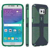 Samsung Galaxy S6 Candyshell Grip, Charcoal Grey & Dragon Green