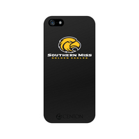University of Southern Mississippi Custom Logo iPhone 5 Case, Black