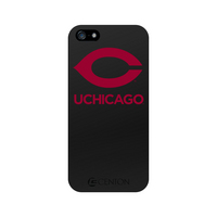 University of Chicago Custom Logo iPhone 5 Case, Black