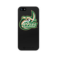 University of North Carolina Charlotte Custom Logo iPhone 5 Case, Black