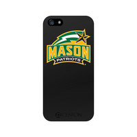 George Mason University Custom Logo iPhone 5 Case, Black