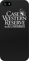 Case Western Reserve University Custom Logo iPhone 55S Case, Black