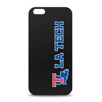 Louisiana Tech Custom Logo iPhone 6 Black Case by Centon