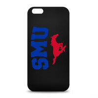 Southern Methodist University Custom Logo iPhone 6 Black Case by Centon