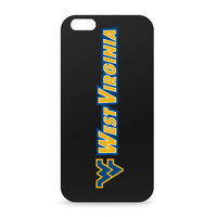 University of West Virginia Custom Logo iPhone 6 Black Case by Centon