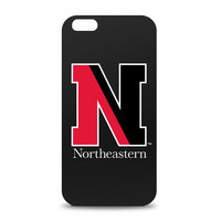 Northeastern University Custom Logo iPhone 6 Black Case by Centon