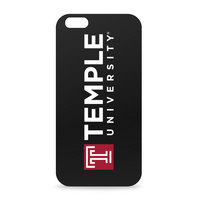 Temple University Custom Logo iPhone 6 Black Case by Centon