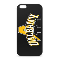 University at Albany Custom Logo iPhone 6 Black Case by Centon