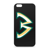 Wayne State Custom Logo iPhone 6 Black Case by Centon