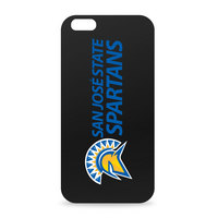 San Jose State University Custom Logo iPhone 6 Black Case by Centon