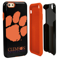 Clemson University Custom iPhone 6, 6s Case. Black