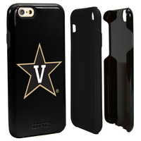 Vanderbilt University Custom iPhone 6, 6s Case. Black