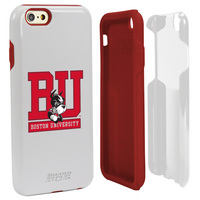 Boston University Custom iPhone 6, 6s Case. White