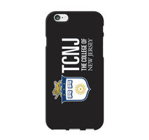 The College of New Jersey Custom Logo iPhone 6 Case, Black