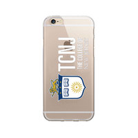 The College of New Jersey Custom Logo iPhone 6 Case, Clear
