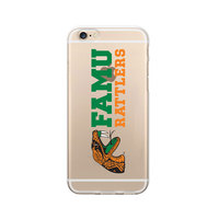Florida A&M University Custom Logo iPhone 6 Case, Clear